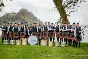 St Joseph's Pipe Band sponsored by Huntoffice