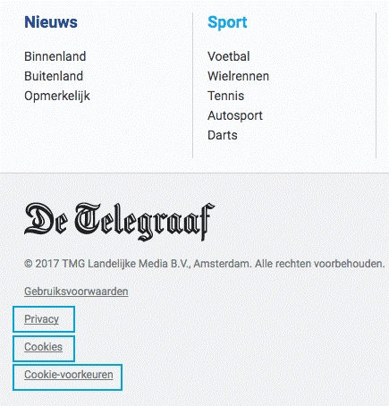 Dutch Telegraaf