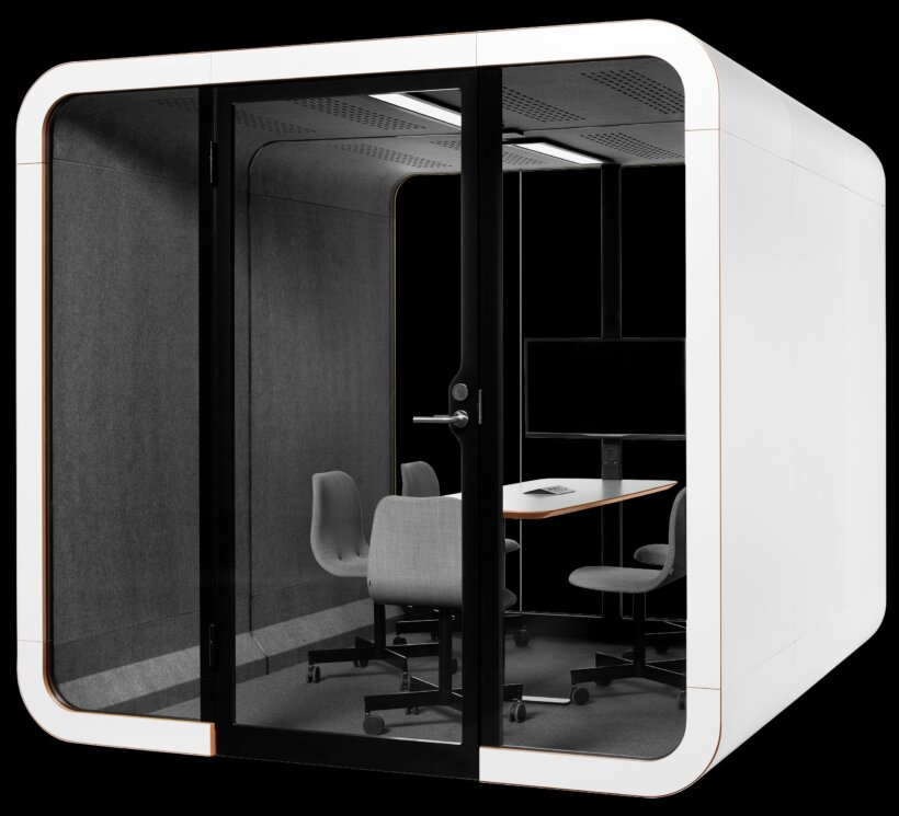 Framery 2Q Acoustic Pods at Huntoffice Interiors