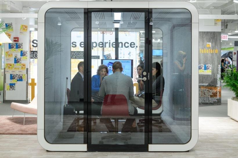 Framery Q Acoustic Pods at Huntoffice Interiors