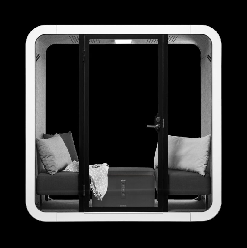 Framery 2Q Acoustic Meeting Pods at Huntoffice Interiors