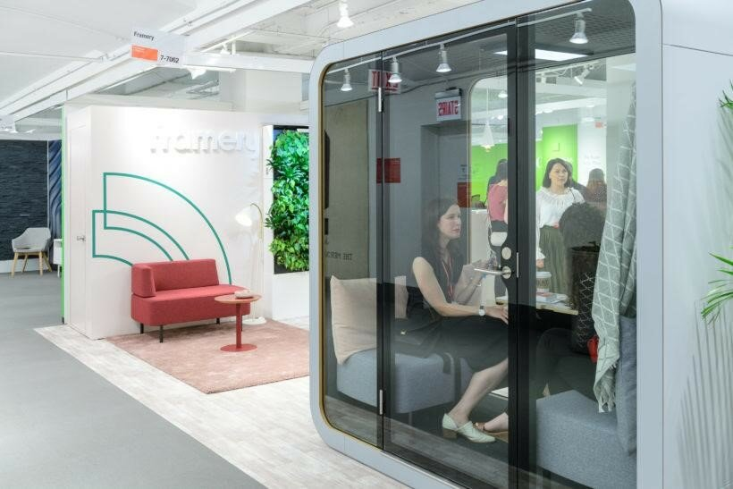 Framery Q Acoustic Pods at Huntoffice Interiors