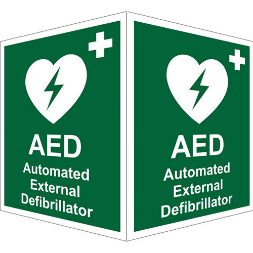 AED Signs at huntoffice.ie