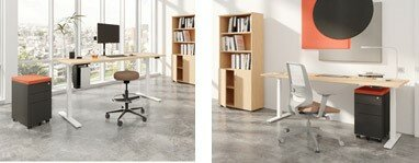 Sit Stand Desks at Huntoffice