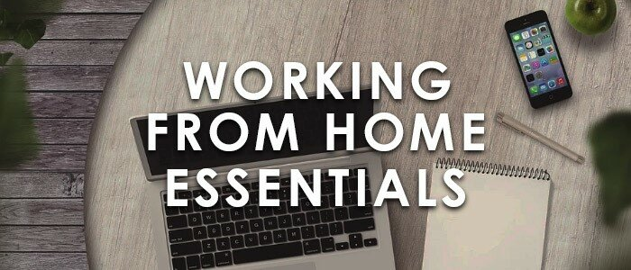 Working from home essentials at huntoffice.ie