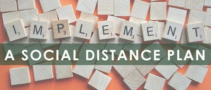 A Guide to Social Distancing in Work by Huntoffice.ie